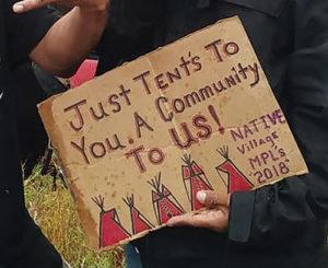 The Fight for Housing: The Franklin Hiawatha Encampment
